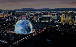 MSG Sphere Vegas
