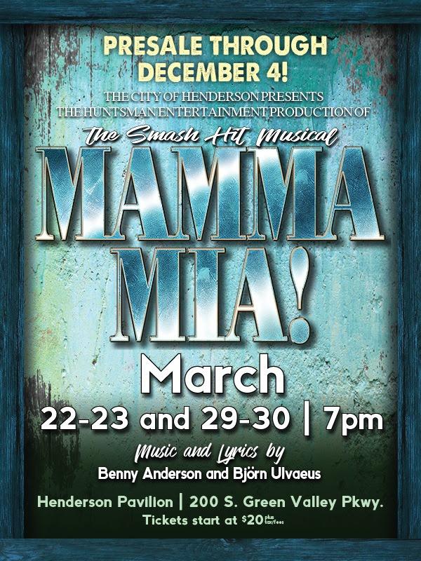 Mamma Mia Henderson Pavilion