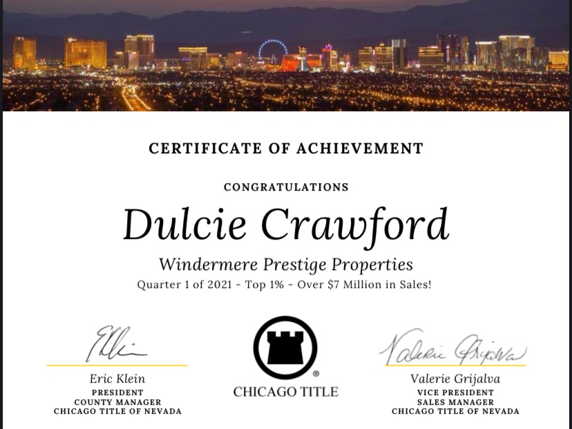 Dulcie Crawford Top 1% Realtor