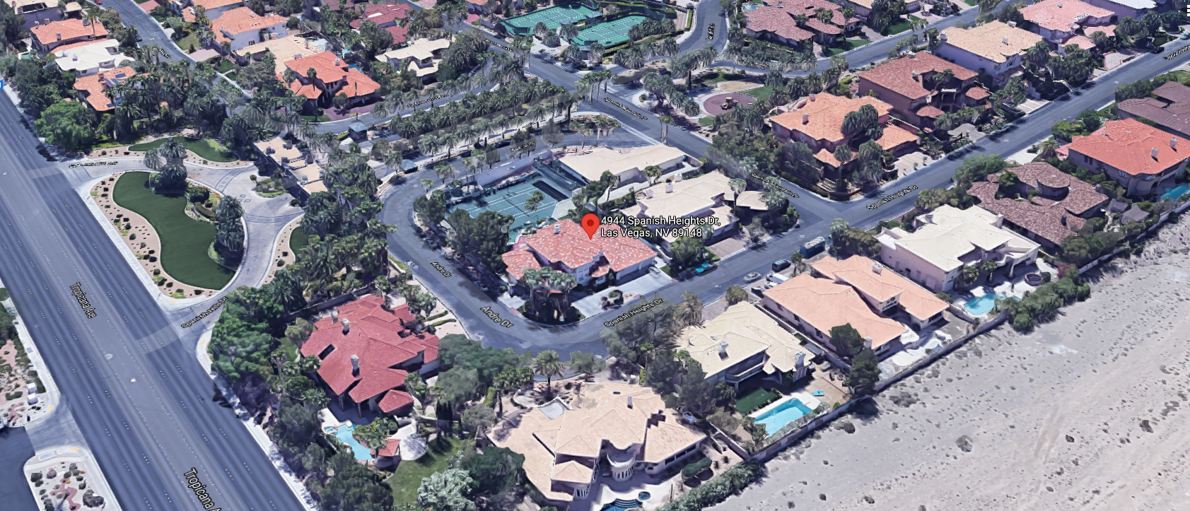 Andre Agassi House for sale